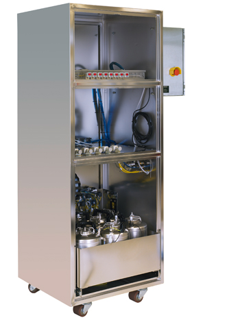 Chemical Dispense Cabinet